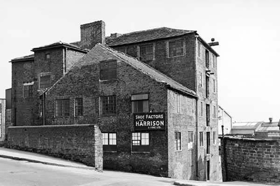 harrisons shoe factors ex silk mill